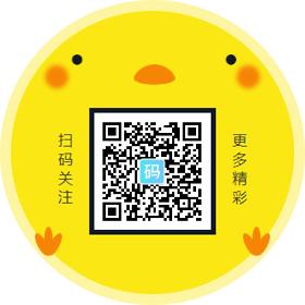 儿童节小动物黄色背景圆形二维码